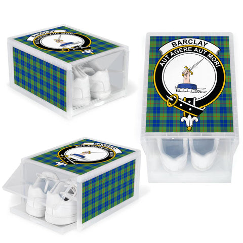 Image of Barclay Hunting Ancient Clan Crest Tartan Scottish Shoe Organizers K9
