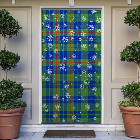 Image of Barclay Hunting Ancient Christmas Tartan Door Sock Cover