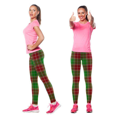 Baxter Modern Tartan Leggings| Over 500 Tartans | Special Custom Design