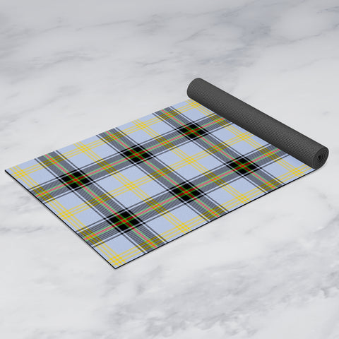 Image of Bell of the Borders Clan Tartan Yoga mats