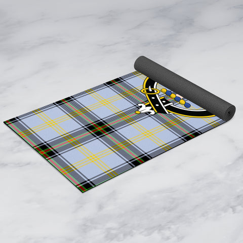 Bell of the Borders Clan Crest Tartan Yoga mats