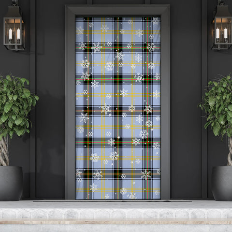 Image of Bell of the Borders Christmas Tartan Door Sock Cover