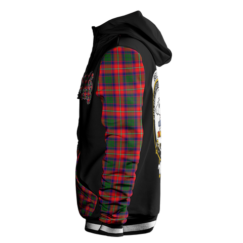 Belshes - Tartan All Over Print Hoodie - BN