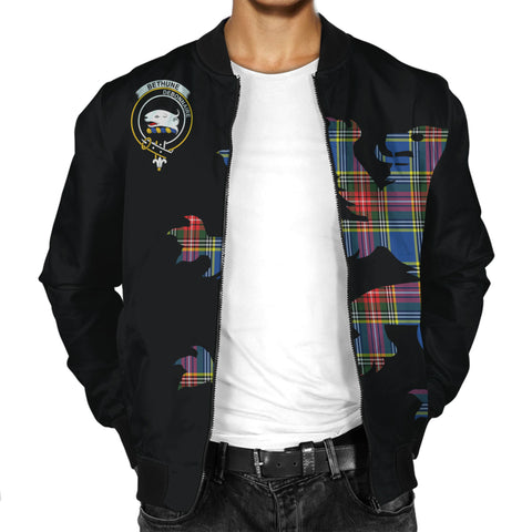 Bethune Lion And Thistle Men Jacket