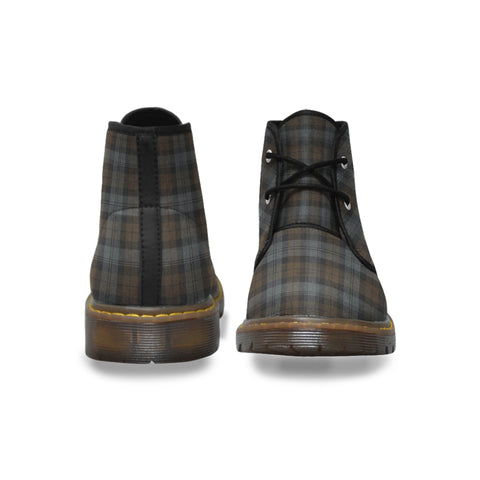 BlackWatch Weathered Tartan Chukka Boots A9