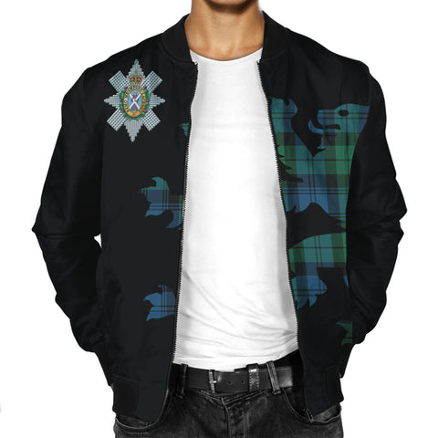 Image of Blackwatch Ancient Lion And Thistle Men Jacket