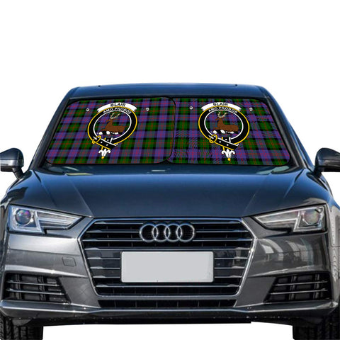Blair Modern Clan Crest Tartan Scotland Car Sun Shade 2pcs