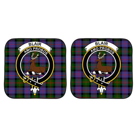 Blair Modern Clan Crest Tartan Scotland Car Sun Shade 2pcs K7
