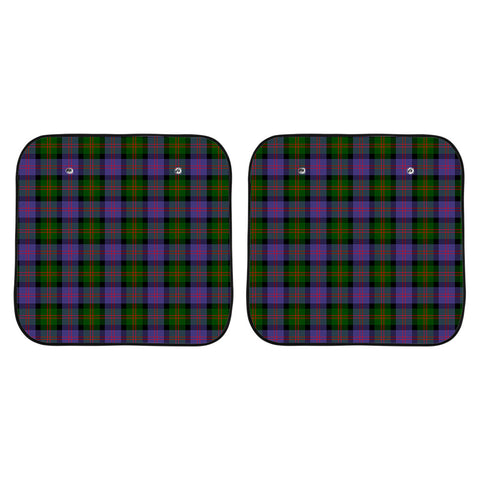 Blair Modern Clan Tartan Scotland Car Sun Shade 2pcs K7