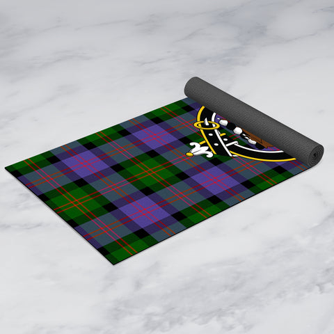 Image of Blair Modern Clan Crest Tartan Yoga mats