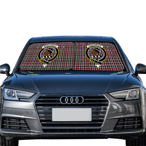 Borthwick Ancient Clan Crest Tartan Scotland Car Sun Shade 2pcs