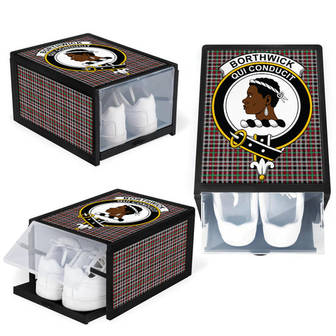 Borthwick Ancient Clan Crest Tartan Scottish Shoe Organizers K9