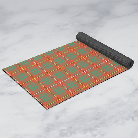 Bruce Ancient Clan Tartan Yoga mats