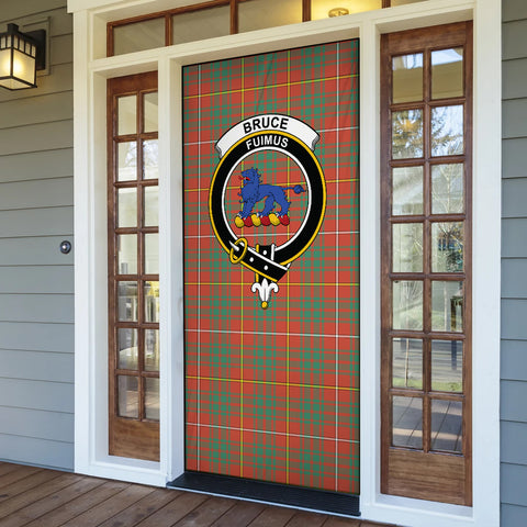 Bruce Ancient Tartan Door Sock Cover