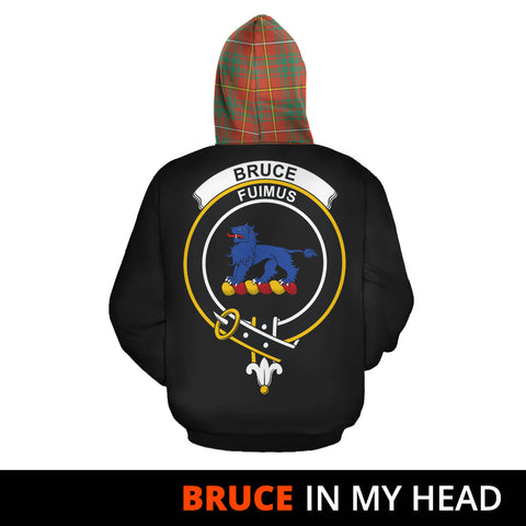 Bruce Ancient In My Head Hoodie Tartan Scotland K9