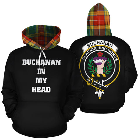 Buchanan Old Sett In My Head Hoodie Tartan Scotland K9