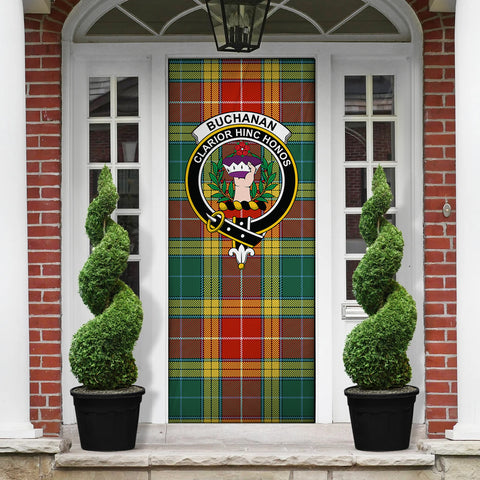 Buchanan Old Sett Tartan Door Sock Cover