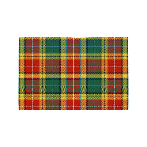Buchanan Old Sett Clan Tartan Motorcycle Flag