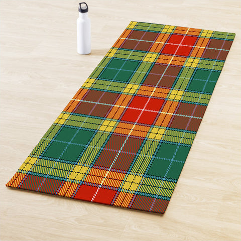 Buchanan Old Sett Clan Tartan Yoga mats