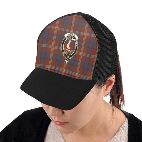 Ainslie Tartan Trucker Hat All Over