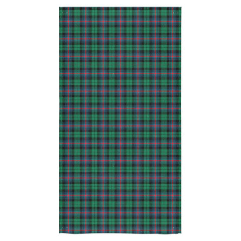 Urquhart Broad Red Ancient Tartan Towel TH8