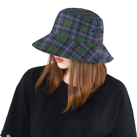 Image of Macrae Hunting Modern Tartan Bucket Hat for Women and Men