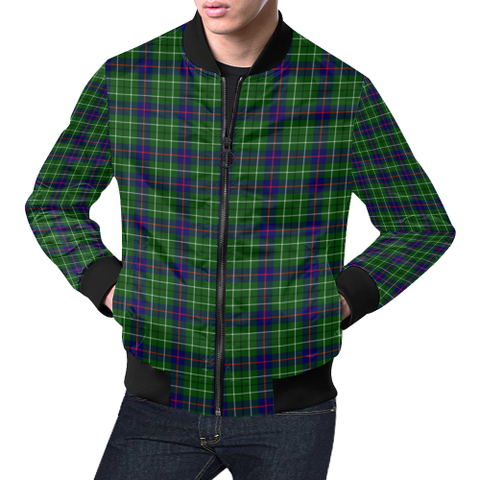 Duncan Modern Tartan Bomber Jacket | Scottish Jacket | Scotland Clothing