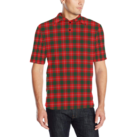 Image of Chisholm Modern  Tartan Polo Shirt