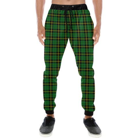 Wallace Hunting - Green Tartan Sweatpant | Great Selection With Over 500 Tartans