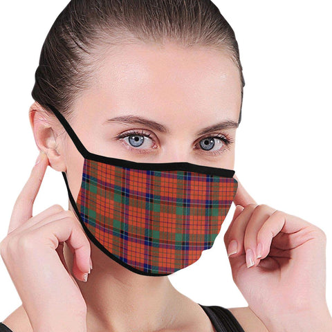 Image of Nicolson Ancient Tartan Mouth Mask Inner Pocket K6 (Combo)