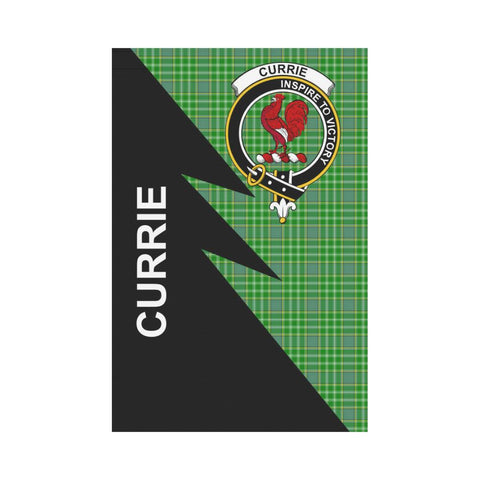 "Image of Currie Tartan Garden Flag - Flash Style 12"" x 18"""
