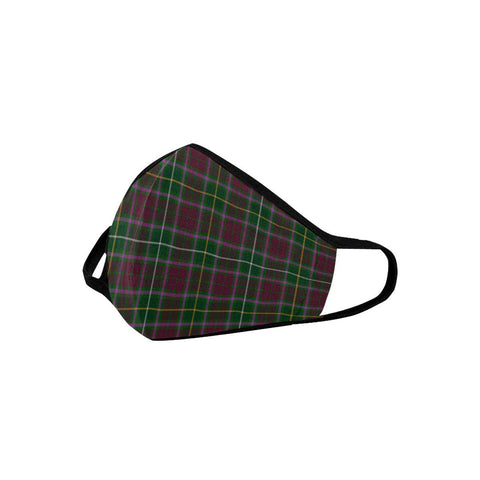 Crosbie Tartan Mouth Mask With Filter | scottishclans.co