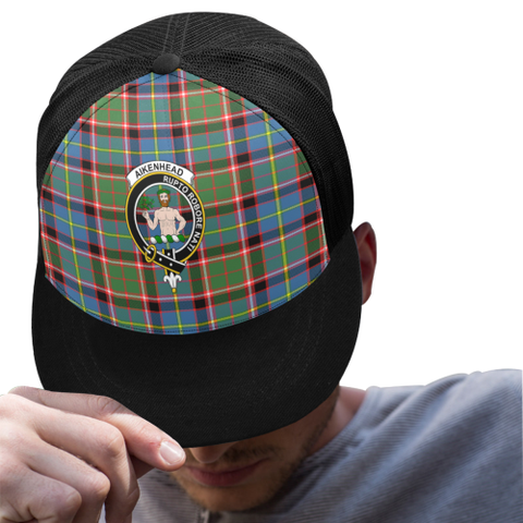 Aikenhead Tartan Trucker Hat All Over