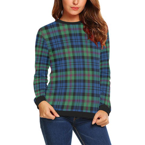 Image of Baird Ancient Tartan Crewneck Sweatshirt TH8