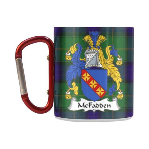 McFadden Tartan Mug Classic Insulated - Clan Badge K7