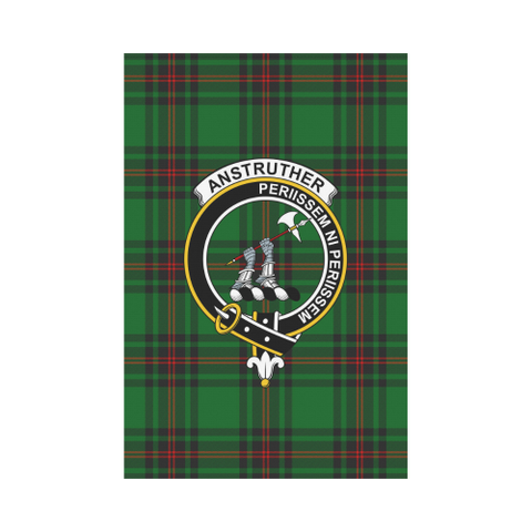 Anstruther Tartan Flag Clan Badge | Scottishclans.co