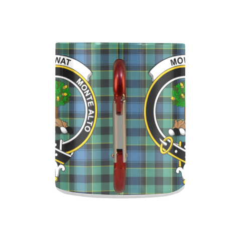 Mowat  Tartan Mug Classic Insulated - Clan Badge K7
