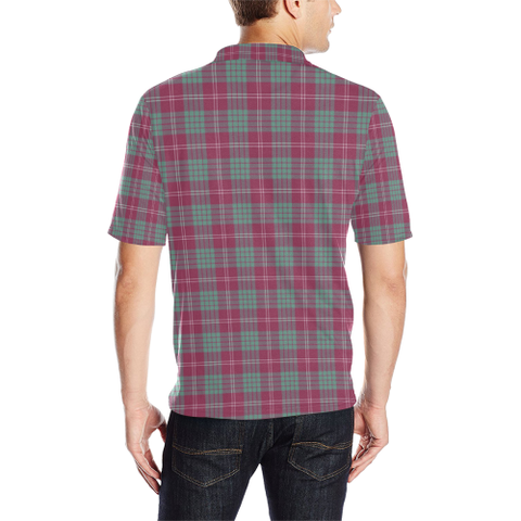 Image of Crawford Ancient  Tartan Polo Shirt HJ4