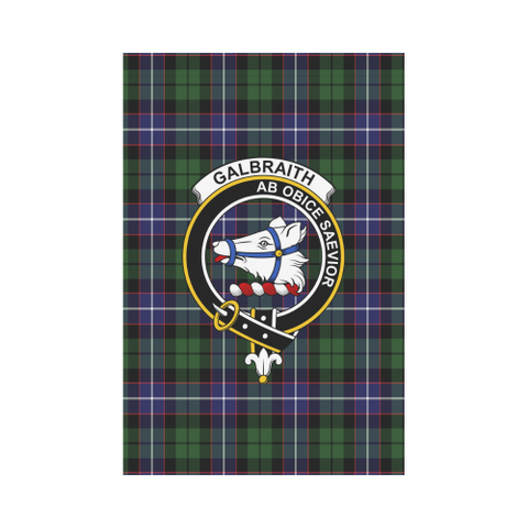 Galbraith Modern Tartan Flag Clan Badge | Scottishclans.co
