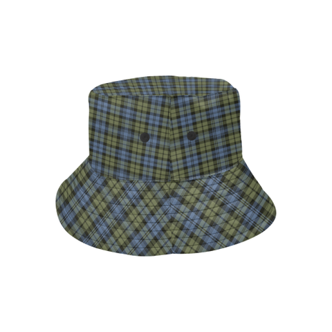 Campbell Faded Tartan Bucket Hat for Women and Men K7