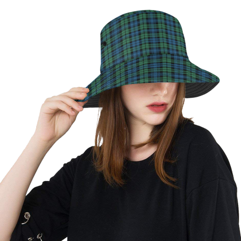 Campbell Ancient 02 Tartan Bucket Hat for Women and Men | Scottishclans.co