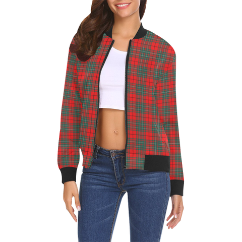 Cumming Modern Tartan Bomber Jacket | Scottish Jacket | Scotland Clothing