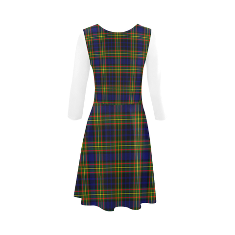 Clelland Modern Tartan 3/4 Sleeve Sundress | Exclusive Over 500 Clans