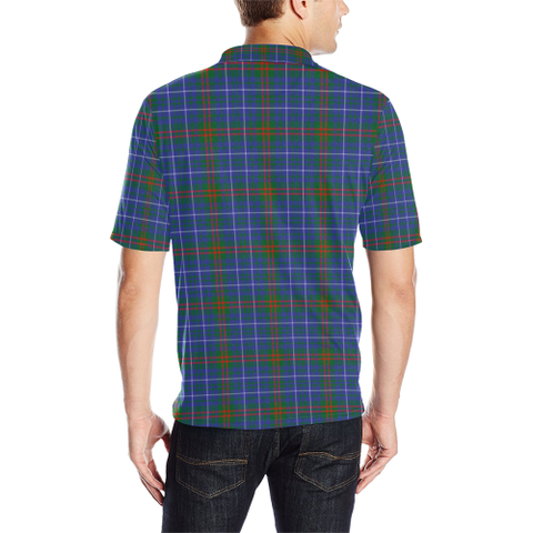 Image of Edmonstone  Tartan Polo Shirt HJ4