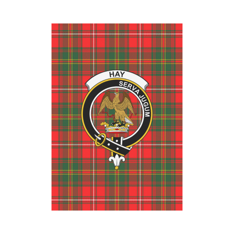 Hay Modern Tartan Flag Clan Badge | Scottishclans.co