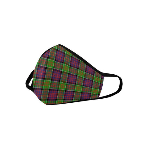 MacDonald of Clanranald Tartan Mouth Mask With Filter | scottishclans.co