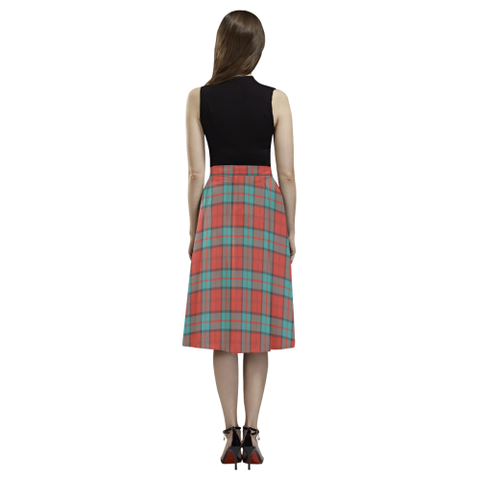Dunbar Ancient Tartan Aoede Crepe Skirt | Exclusive Over 500 Tartan