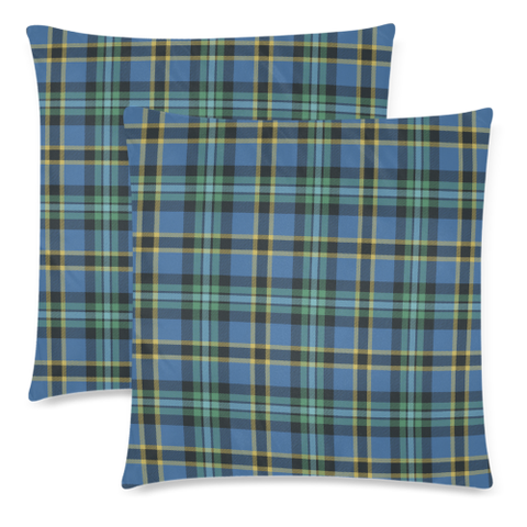 Image of Weir Ancient decorative pillow covers, Weir Ancient tartan cushion covers, Weir Ancient plaid pillow covers