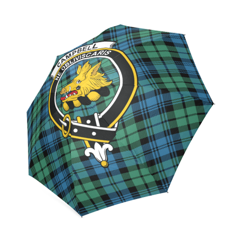 Campbell Ancient 01 Crest Tartan Umbrella TH8