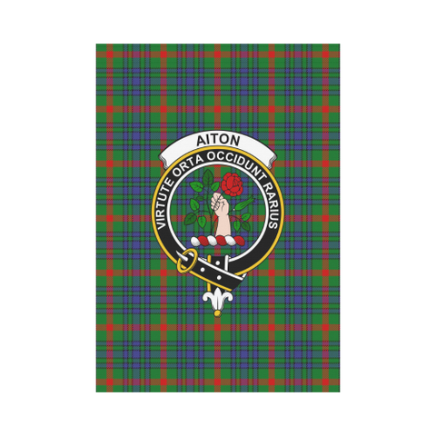 Aiton Tartan Flag Clan Badge K7